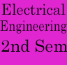 Electrical Engineering 2nd sem previous years question papers